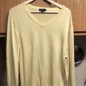 Brooks Brother Silk Vneck Sweater